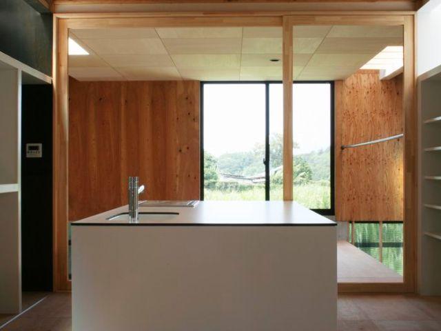 開放的なキッチン